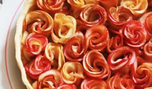 Tarte fleurs de pommes