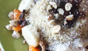 Bowlcake banane et chocolat ultra rapide