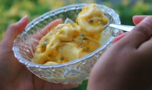 Nice cream mangue passion