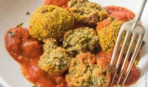 Boulettes d'aubergine alla Parmigiana
