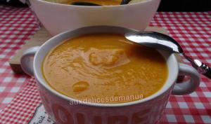 Velouté de butternut et carottes