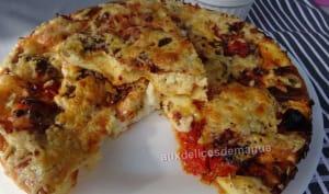 Flan comme une pizza