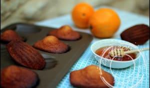 Madeleines au miel et zeste d'orange de Cyril Lignac