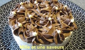 Bavarois praliné et chocolat blanc