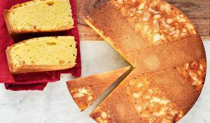 Torta caprese au citron et massepain cuit