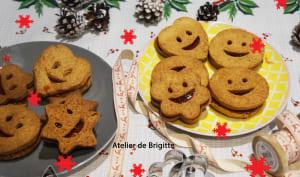 Biscuits tyroliens fourrés au Gratte Cul