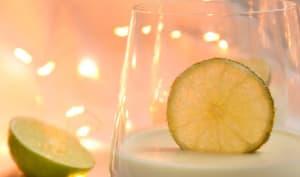 Panna cotta citronnée