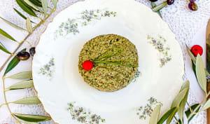 Pâté végétal aux champignons, noisettes et massalé