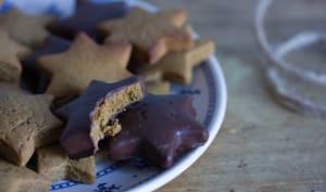 Gingerbread : biscuits aux épices et au chocolat