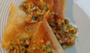 Samossas canard et butternut