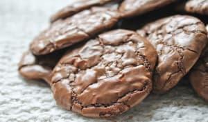 Cookies façon brownies au chocolat fondant