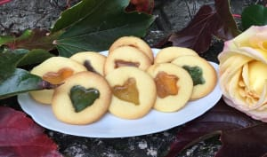 Biscuits vitraux