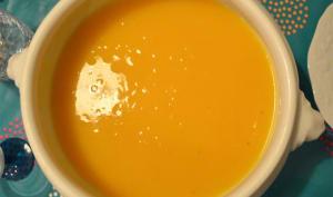 Soupe au potiron du petit Quentin