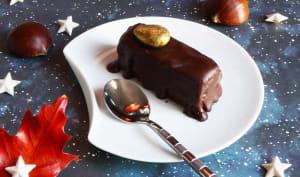 Mini parfaits chocolat châtaigne sans cuisson