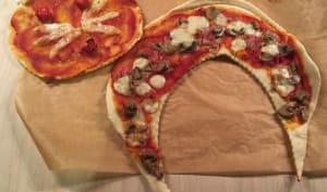 La pizza facile et rigolote