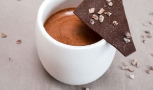 La mousse aux deux chocolats de Yann Couvreur