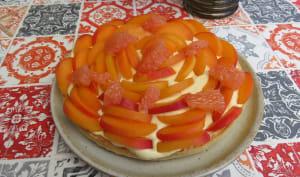 Ma tarte bonne fête maman