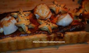 Tarte aux noix de St Jacques