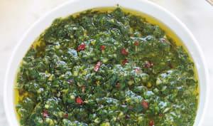 Sauce chermoula marocaine