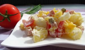 Salade piémontaise allégée