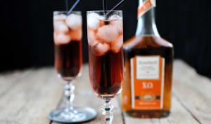 Cocktail au calvados et Grand Marnier