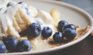 Crêpes sans gluten et vegan