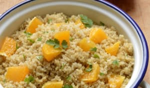 Quinoa orange et gingembre