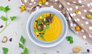 Soupe butternut et beurre de cacahuètes