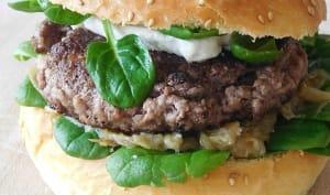 Mon burger Mayennais