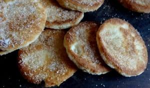 Biscuits à l'ananas à la poêle