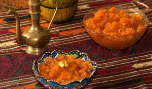 Confiture de carottes.