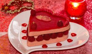Coeur gourmand aux pralines roses