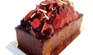 Cake amande-griotte