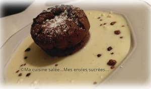 Moelleux choco griottines