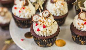 Cupcakes aux kinder Schokobons