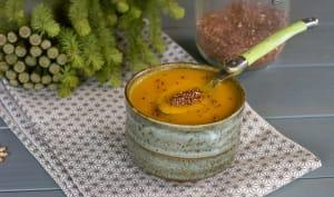 Soupe de rutabagas au quinoa