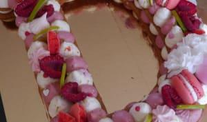 Mon letter cake aux saveurs acidulées