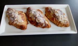 Croissants aux amandes
