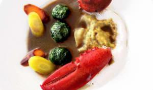 Trilogie de homard en civet