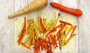 Frites de panais et carottes