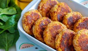 Nuggets végétariens au fromage et potiron