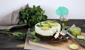 Cheesecake mojito cru