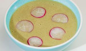 Soupe de radis printanière
