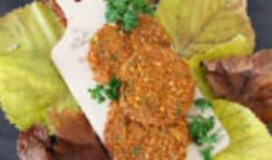 Galettes végétales à la courge butternut et au quinoa