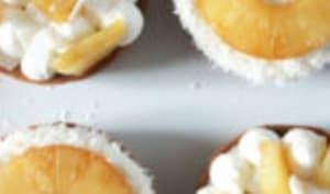 Tartelettes piña colada
