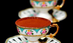 Crème au chocolat caramel et cacao.