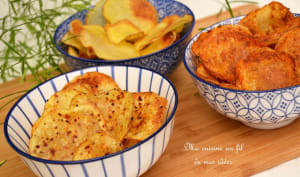 Chips maison aux 3 saveurs