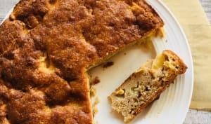Somerset Apple Cake: gâteau aux pommes anglais