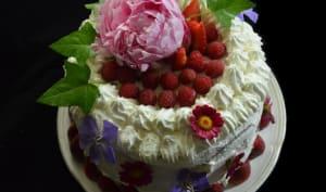 Layer cake à la fraise