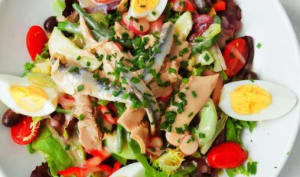 Salade niçoise pas comme les autres